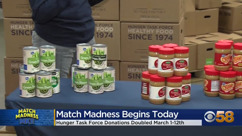 Match Madness MKE underway to help support local hunger relief